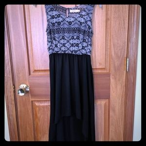 High-low tank dress from Candie's. Size S